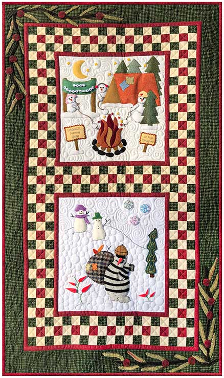Winter Wonderland Mystery Sew-A-Long Finishing Design 4 - KIT ONLY