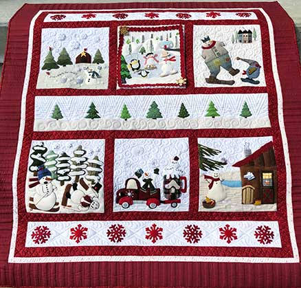 Winter Wonderland Mystery Sew-A-Long Finishing Design 3 - KIT ONLY