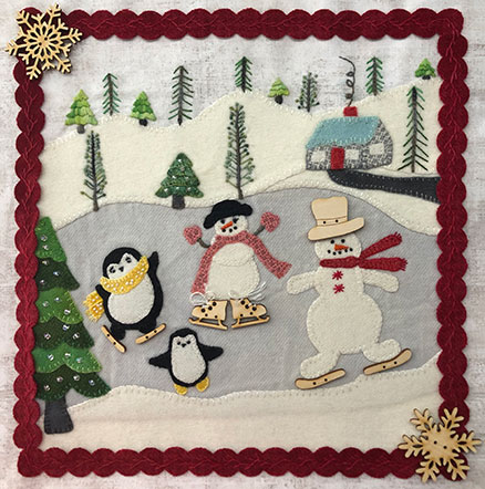 Winter Wonderland Mystery Sew-A-Long Block #2 - KIT ONLY