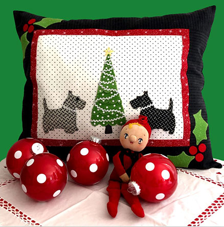 The Joy of Giving Mystery Project 1 - SCOTTY CHRISTMAS KIT WITH PRINTED PATTERN ONLY
